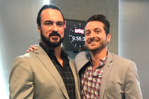Drew McIntyre speaks to WTOP before WWE Raw comes to DC