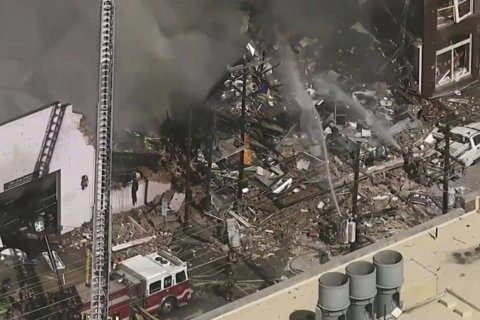 Police: Coffee shop owner killed, 17 hurt in gas explosion