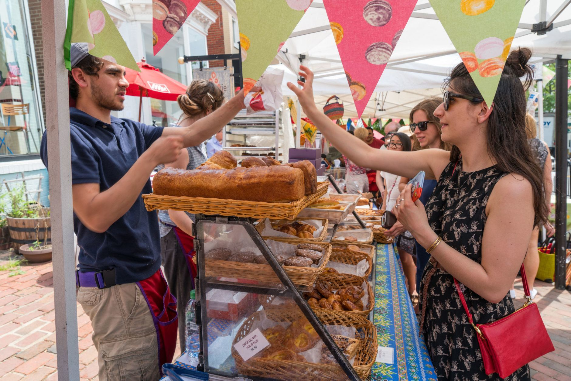 The 16th-annual Georgetown French Market is Friday through Sunday. It's open from 10 a.m. to 5 p.m. both Friday and Saturday and from noon until 5 p.m. on Sunday. (Courtesy Georgetown BID)