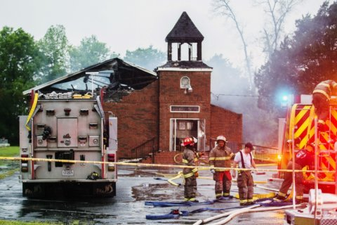 Authorities say deputy's son behind fires at black churches