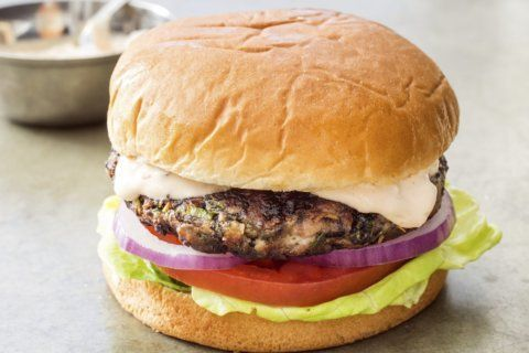 Make a veggie burger that doesn't taste like a hockey puck