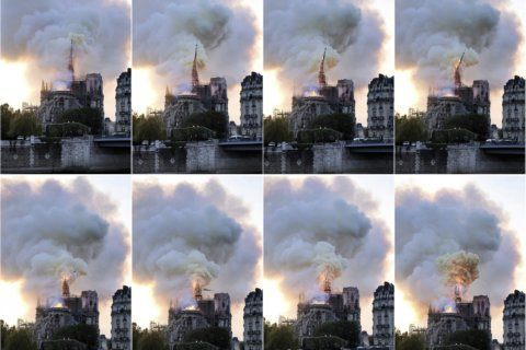 66 minutes: The frantic race to save Notre Dame