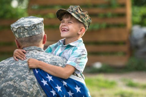 How to help someone recently out of the military