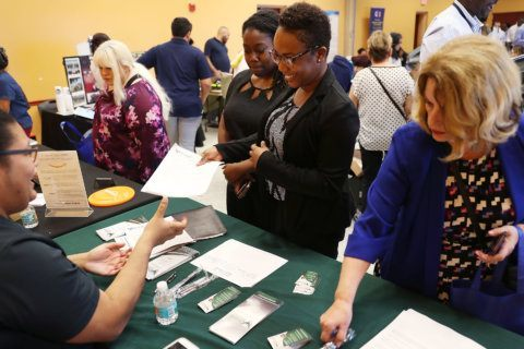 Unemployment in DC area falls to 3.5%
