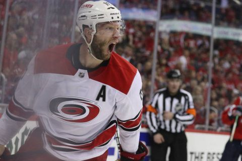 Caps' Cup run is over: Hurricanes stun Capitals in 2OT, win Game 7