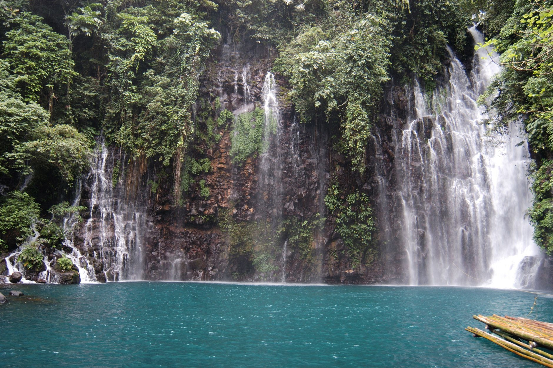 Tinago means hidden. Tinago falls is situated in a deep raven in, Ditucalan, Iligan City, Mindanao,Philippines