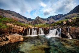 Fairy Pools United Kingdom taken in 2015