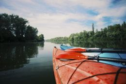 Kayaking on the Lake Concept Photo. (Getty Images/iStockphoto)