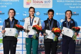Medals are awarded for first, second and third place, so a competitor's goal is to reach the podium. (Courtesy Augusto Bizzi/Bizzi Team)