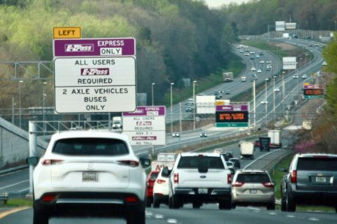 I-95 north narrows to 1 lane this weekend in Fredericksburg area