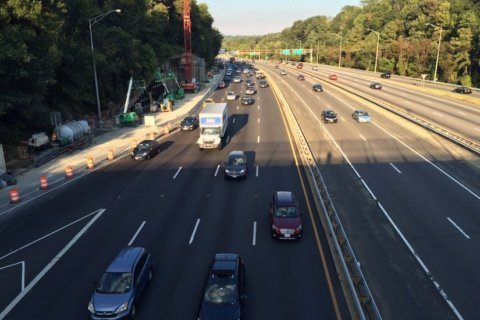 Weekend lane closures will cause delays on NB I-395