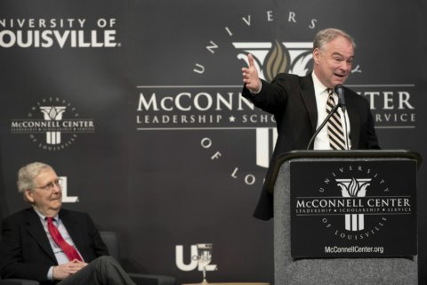 Kaine downplays chances of abolishing Electoral College