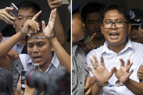Myanmar court rejects appeal of jailed Reuters reporters