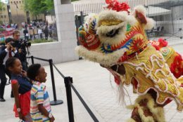 Entertainment at the 2018 Around the World Embassy Tour. (Courtesy Cultural Tourism DC)