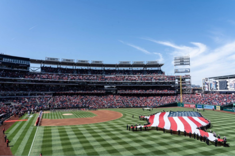 PenFed has free Nats tickets all season for active military, vets