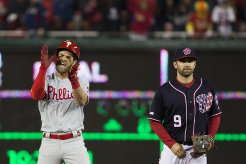 Harper sticks it to Nats, leading Phillies to 8-2 win in DC