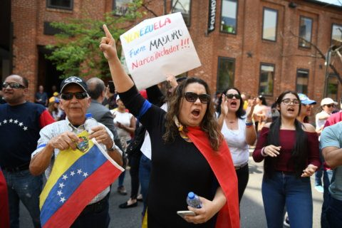 3 arrested in clashes at Venezuelan embassy in Georgetown