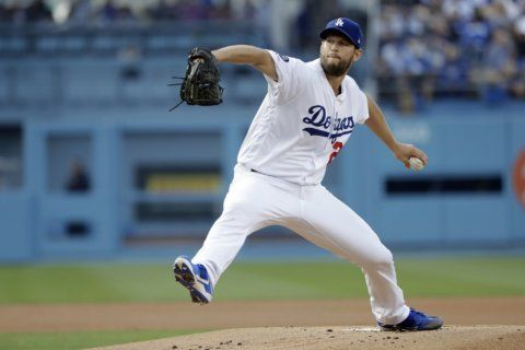 Kershaw gets 1st win as Dodgers beat Pirates 3-1