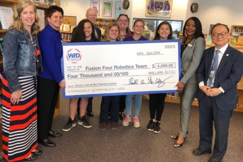 All-girl robotics team from Fairfax Co. gets sponsorship to attend world competition