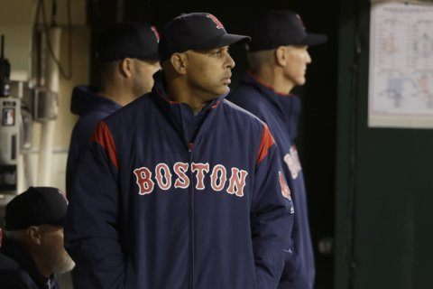 Red Sox manager Cora undecided on White House visit