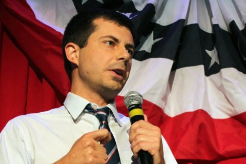 Democratic candidate Pete Buttigieg says his team raised more than $7 million in first quarter
