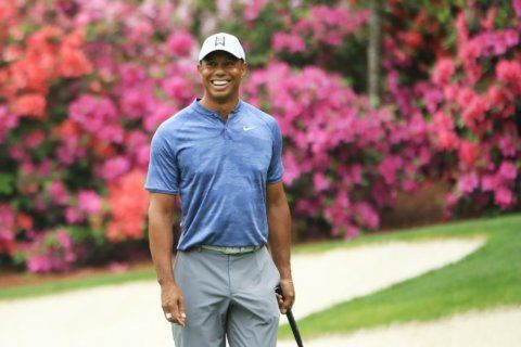 Tiger Woods poised to strike as Francesco Molinari leads Masters