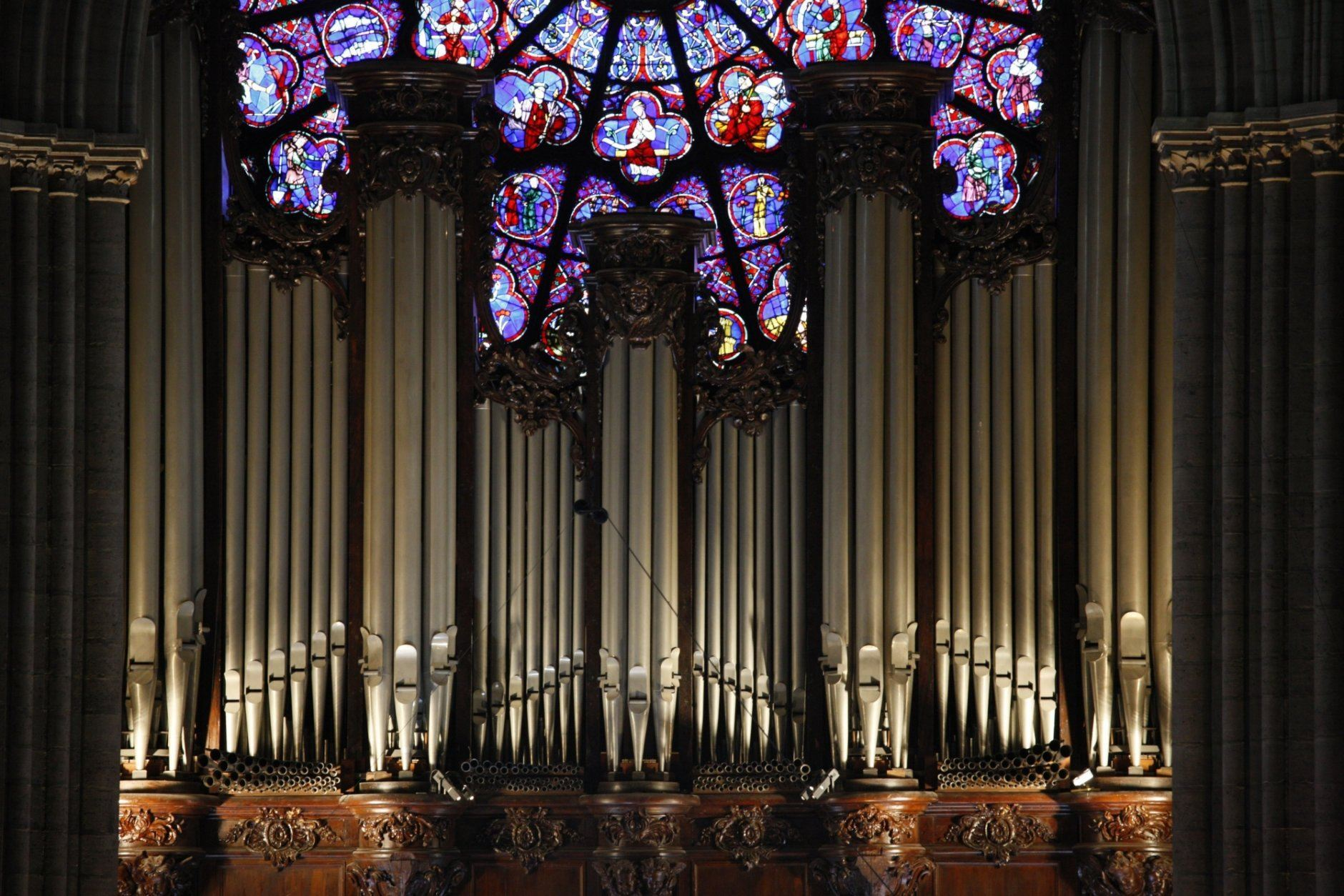 The master organ is used for public services. (Getty Images)