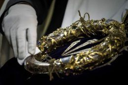 The Crown of Thorns is a relic of the passion of Christ. (Philippe Lopez/AFP/Getty Images)
