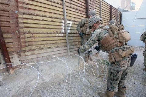 DHS request for more troops at the border is sent to the Pentagon