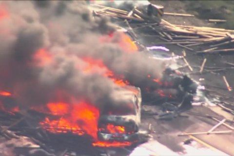 4 people died in the Colorado pileup and a truck driver faces vehicular homicide charges