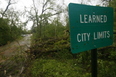 The Latest: Forecasters confirm 4 tornadoes in Virginia
