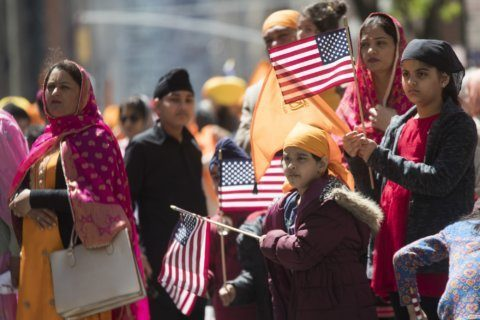 Fun meets anti-bullying effort at annual Sikh Day Parade