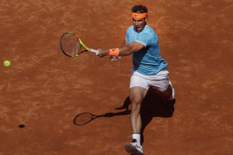 Nadal rallies to beat Mayer in 3 sets in Barcelona Open
