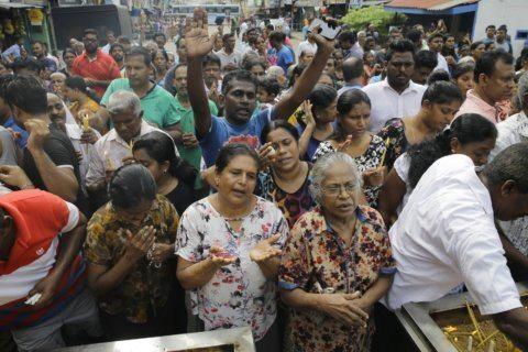 No Mass for Sri Lanka's Catholics; no veils for Muslim women