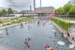 The Yards is a significant piece of the Capitol Riverfront neighborhood. (Courtesy The Brand Guild)