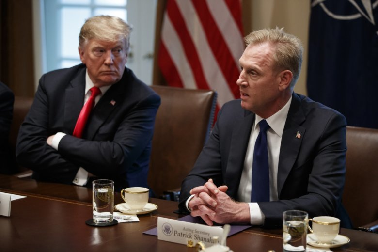 Acting Pentagon chief makes renewed pitch for Space Force