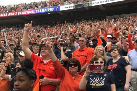 Virginia celebrations continue for school's 1st-ever NCAA basketball win