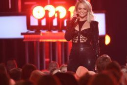 Miranda Lambert performs a medley at the 54th annual Academy of Country Music Awards at the MGM Grand Garden Arena on Sunday, April 7, 2019, in Las Vegas. (Photo by Chris Pizzello/Invision/AP)