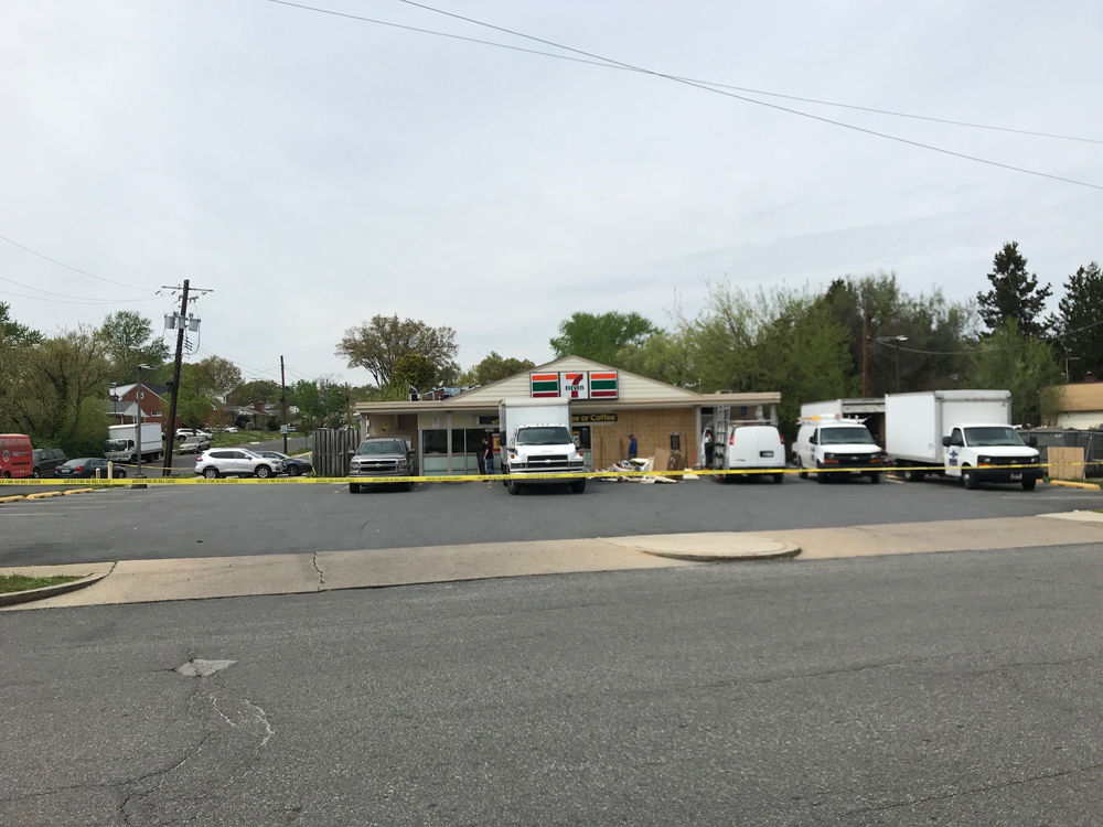 Of the four attempts to steal an ATM from a convenience store, two have been successful. (WTOP/Dick Uliano)
