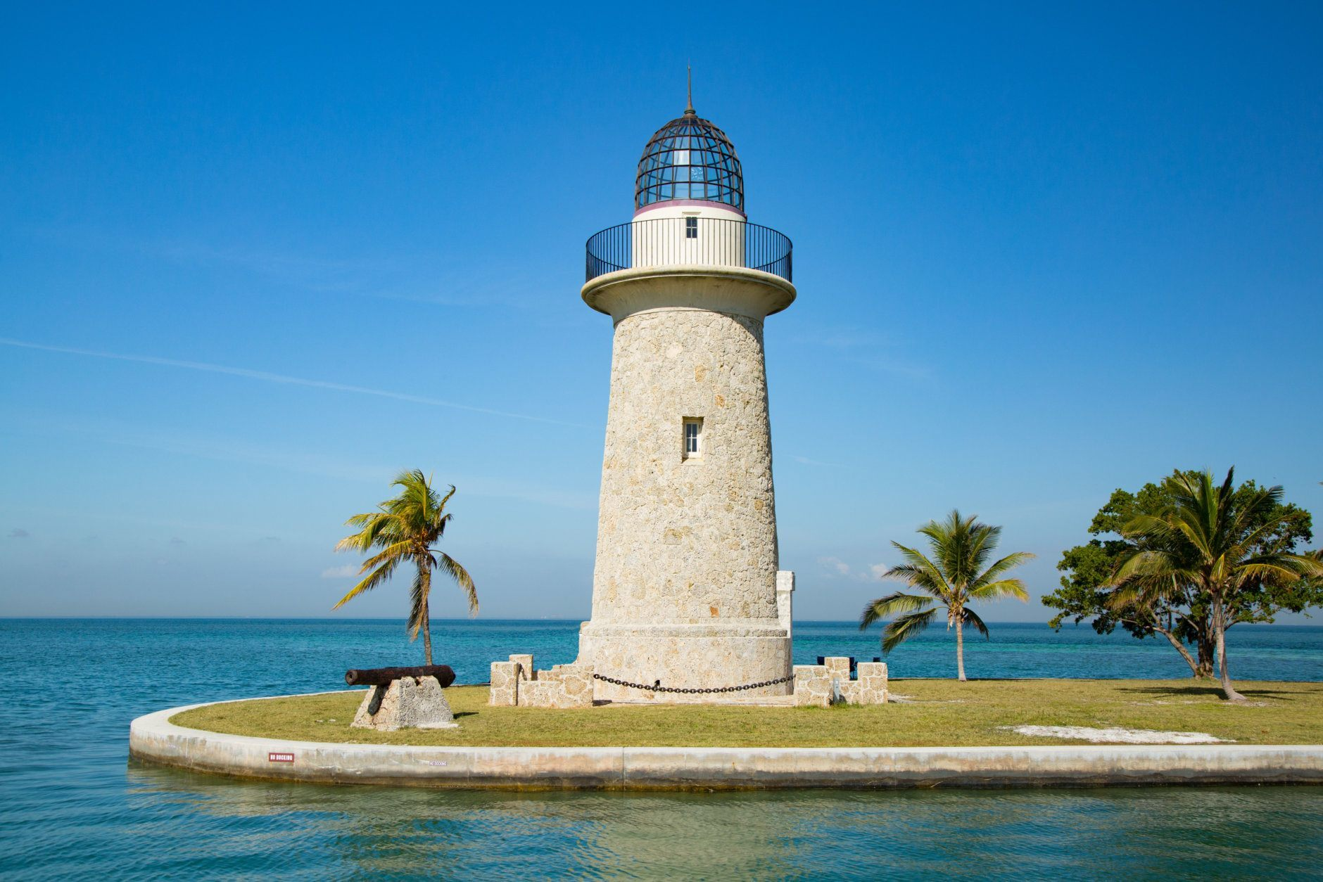 Boca Chita Lighthouse in Biscayne National Park is a historical and visual gem