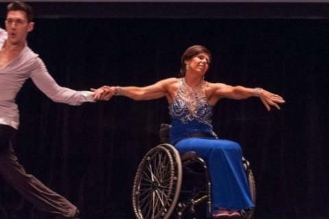 This wheelchair ballroom dancer is breaking barriers