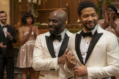 'Empire' makes history by airing the first black gay wedding on network television