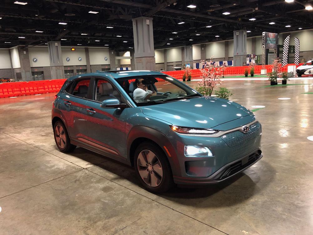 Hyundai Kona Electric (WTOP/John Aaron)