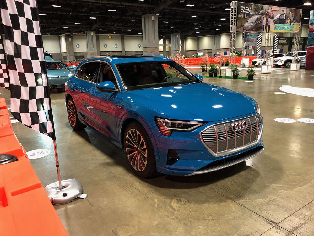 Audi e-tron (WTOP/John Aaron)