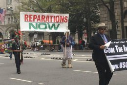 The Emancipation Day Parade takes place Saturday, April 13, 2019, in D.C. (WTOP/Rick Massimo)