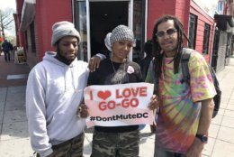#DontMuteDC went viral after the owner of a Metro PCS in Shaw was told to turn off the go-go music he's been playing for 24 years. (WTOP/Michelle Basch)