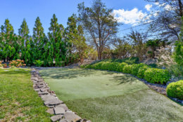 A personal putting green is part of the property. (Courtesy Svetlana Leahy)