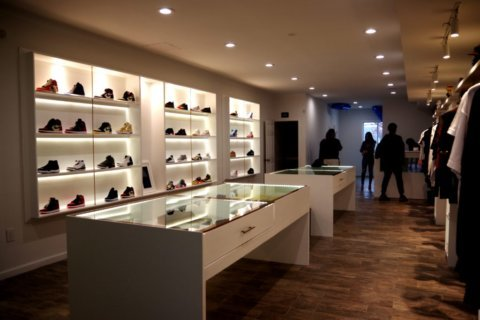 New luxury shoe store 'Jus4thqtr' now open on Lee Highway