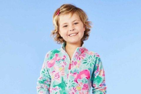 Girl creates Lilly Pulitzer print to benefit children's cancer research