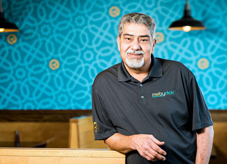 Mike Daryoush opened his first restaurant in 1989. Now, Moby Dick House of Kabob celebrated 30 years. (Courtesy Moby Dick House of Kabob)